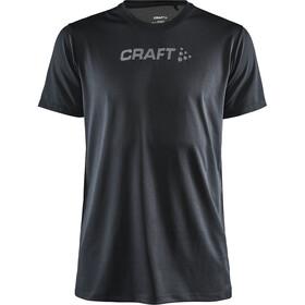 Craft Core Essence T-Shirt z siateczką Mężczyźni, czarny
